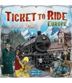 Ticket to Ride Europe Board...