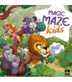 Magic Maze Kids Stalo žaidimas