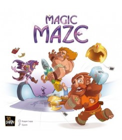 Magic Maze Stalo žaidimas