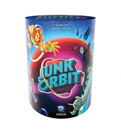 Junk Orbit Board game