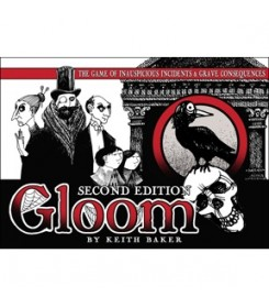 Gloom 2nd ed. Kortų žaidimas